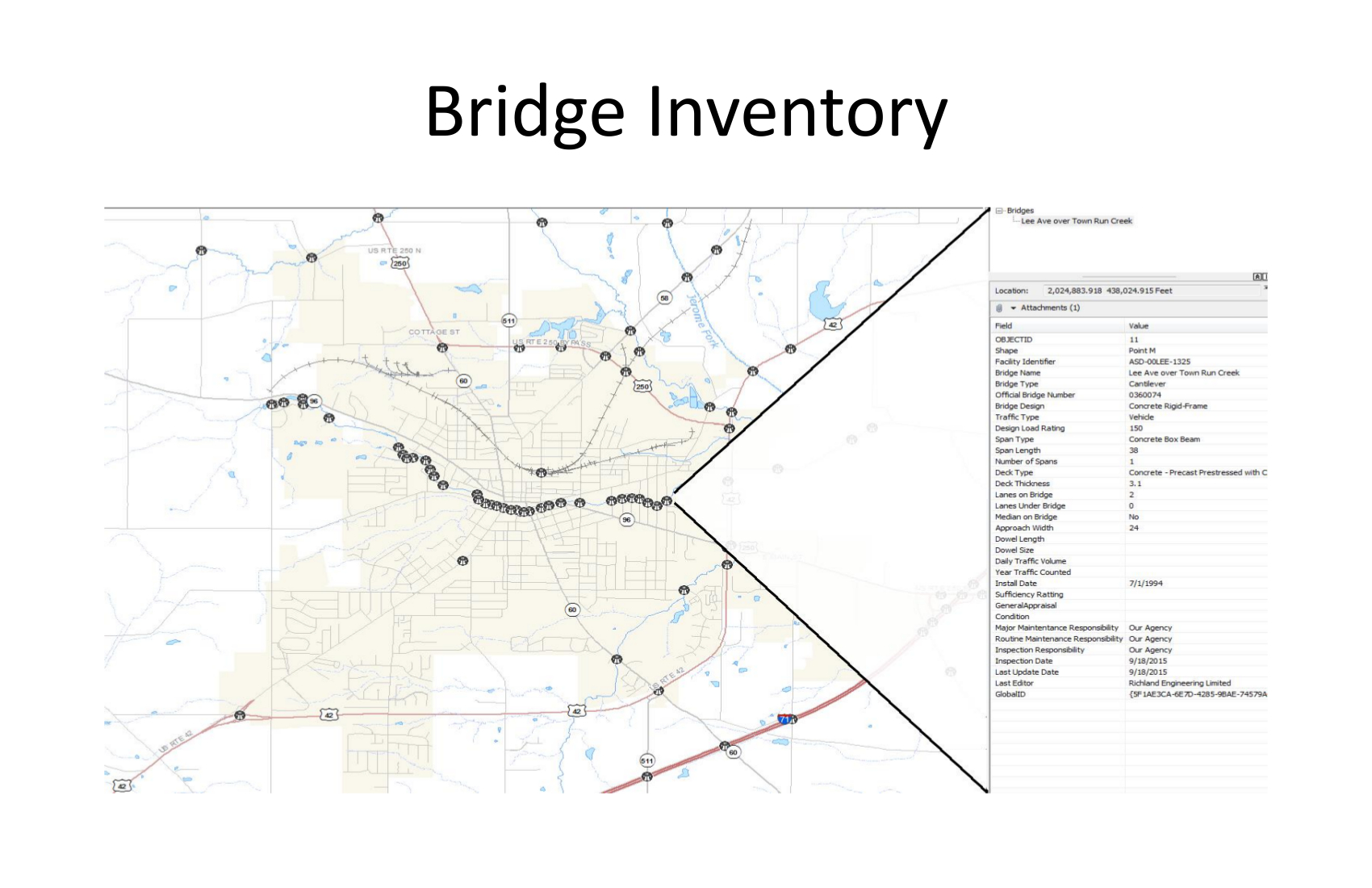 bridge map example